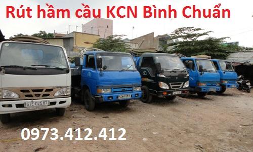 Rút hầm cầu KCN Bình Chuẩn