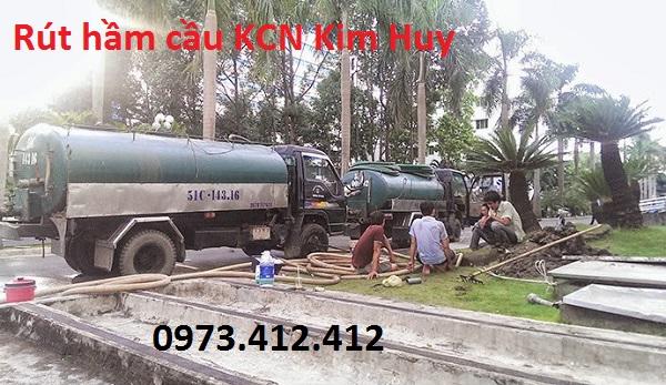 Rút hầm cầu KCN Kim Huy