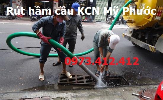 Rút hầm cầu KCN Mỹ Phước