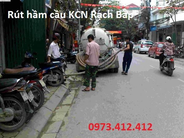 rút hầm cầu KCN Rạch Bắp