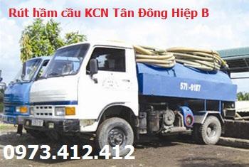 Rút hầm cầu KCN Tân Đông Hiệp B