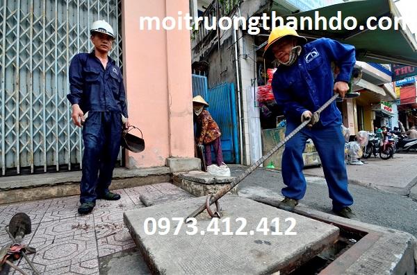 Thông cống nghẹt phường Hiệp Bình Chánh